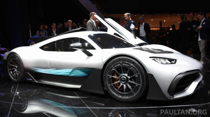 Mercedes-AMG Project One hypercar finally unveiled – sub-6 seconds 0-200 km/h, top speed over 350 km/h Image #708551