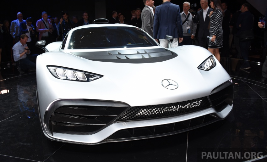 Mercedes-AMG Project One hypercar finally unveiled – sub-6 seconds 0-200 km/h, top speed over 350 km/h Image #708545