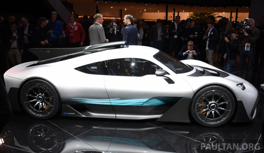 Mercedes-AMG Project One hypercar finally unveiled – sub-6 seconds 0-200 km/h, top speed over 350 km/h Image #708546