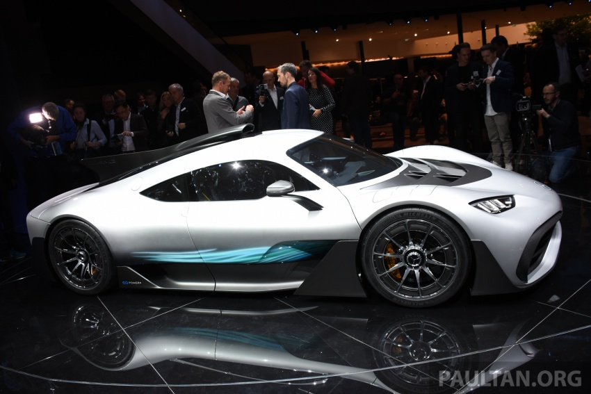 Mercedes-AMG Project One hypercar finally unveiled – sub-6 seconds 0-200 km/h, top speed over 350 km/h Image #708549