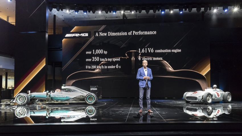 Mercedes-AMG Project One hypercar finally unveiled – sub-6 seconds 0-200 km/h, top speed over 350 km/h Image #708760
