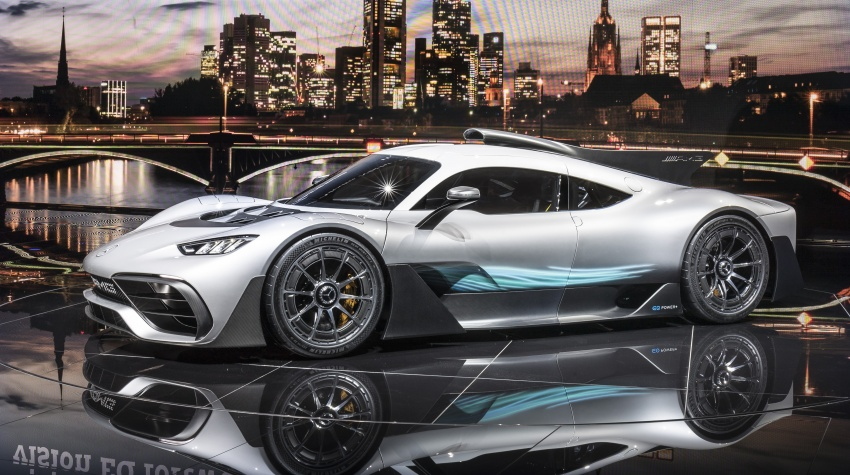 Mercedes-AMG Project One hypercar finally unveiled – sub-6 seconds 0-200 km/h, top speed over 350 km/h Image #708789