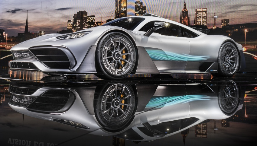 Mercedes-AMG Project One hypercar finally unveiled – sub-6 seconds 0-200 km/h, top speed over 350 km/h Image #708792