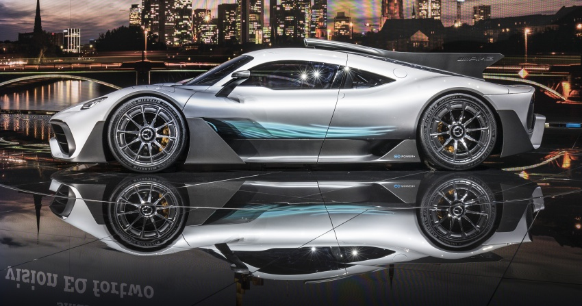 Mercedes-AMG Project One hypercar finally unveiled – sub-6 seconds 0-200 km/h, top speed over 350 km/h Image #708798