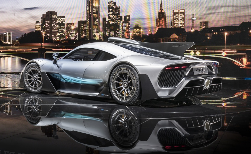 Mercedes-AMG Project One hypercar finally unveiled – sub-6 seconds 0-200 km/h, top speed over 350 km/h Image #708805