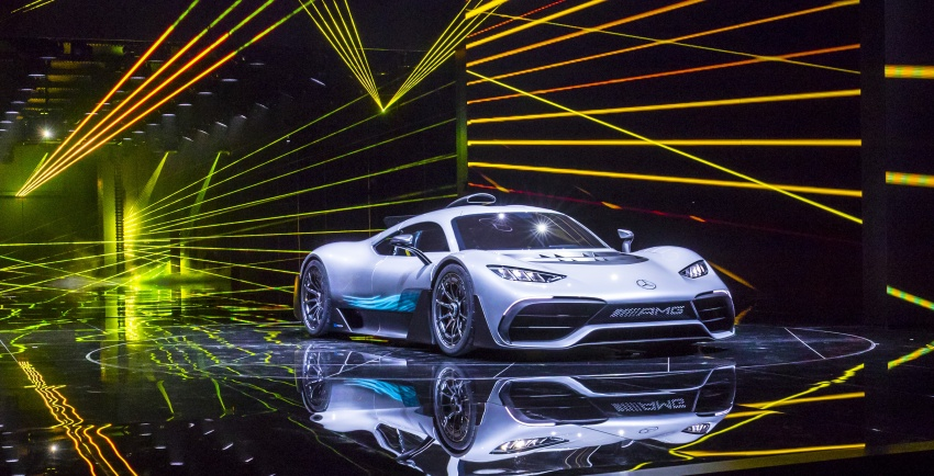 Mercedes-AMG Project One hypercar finally unveiled – sub-6 seconds 0-200 km/h, top speed over 350 km/h Image #708766