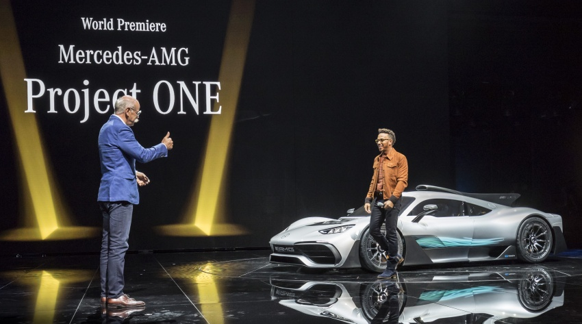 Mercedes-AMG Project One hypercar finally unveiled – sub-6 seconds 0-200 km/h, top speed over 350 km/h Image #708770