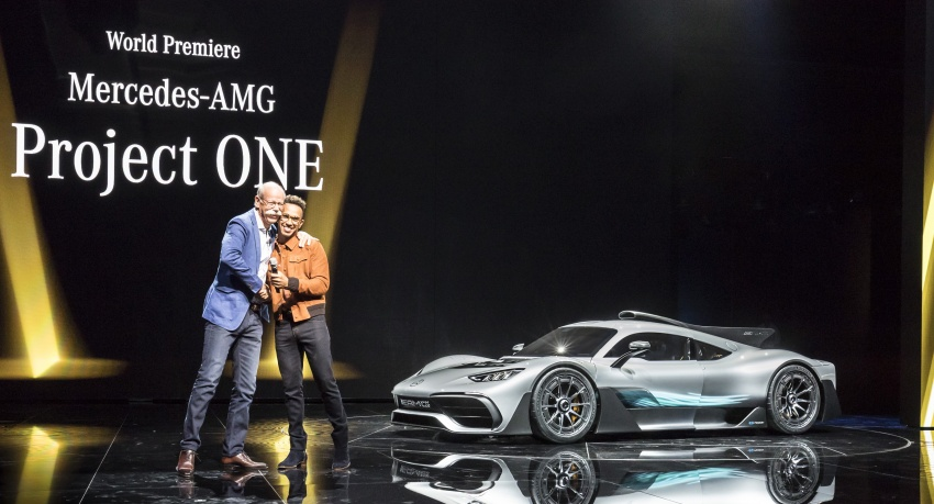 Mercedes-AMG Project One hypercar finally unveiled – sub-6 seconds 0-200 km/h, top speed over 350 km/h Image #708776