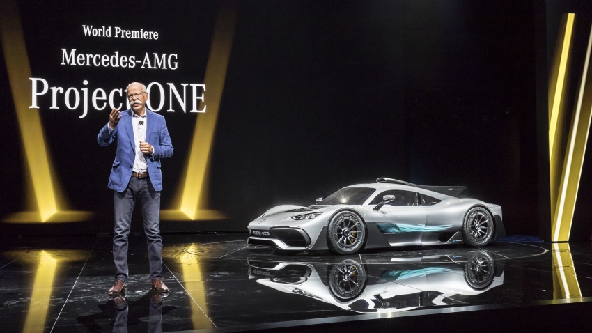Mercedes-AMG Project One hypercar finally unveiled – sub-6 seconds 0-200 km/h, top speed over 350 km/h Image #708780
