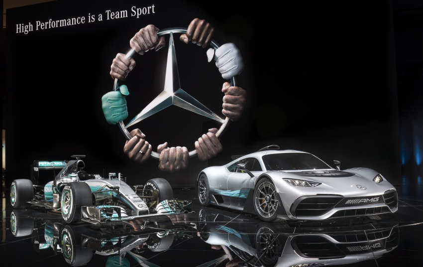Mercedes-AMG Project One hypercar finally unveiled – sub-6 seconds 0-200 km/h, top speed over 350 km/h Image #708787