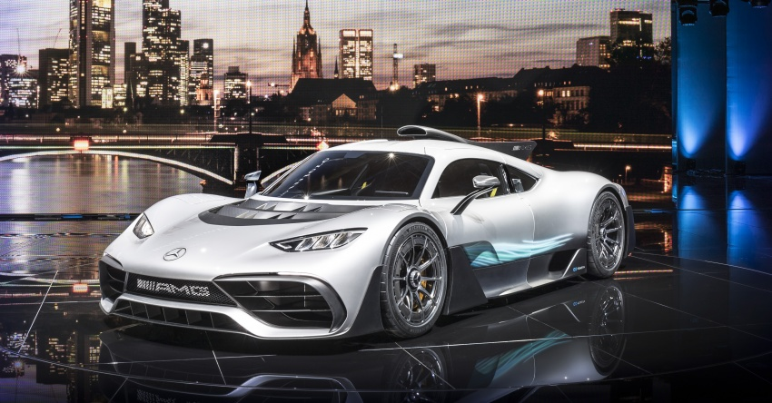 Mercedes-AMG Project One hypercar finally unveiled – sub-6 seconds 0-200 km/h, top speed over 350 km/h Image #708788