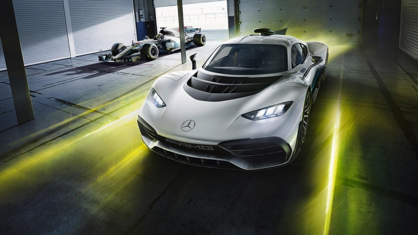 Mercedes-AMG Project One hypercar finally unveiled – sub-6 seconds 0-200 km/h, top speed over 350 km/h Image #711367