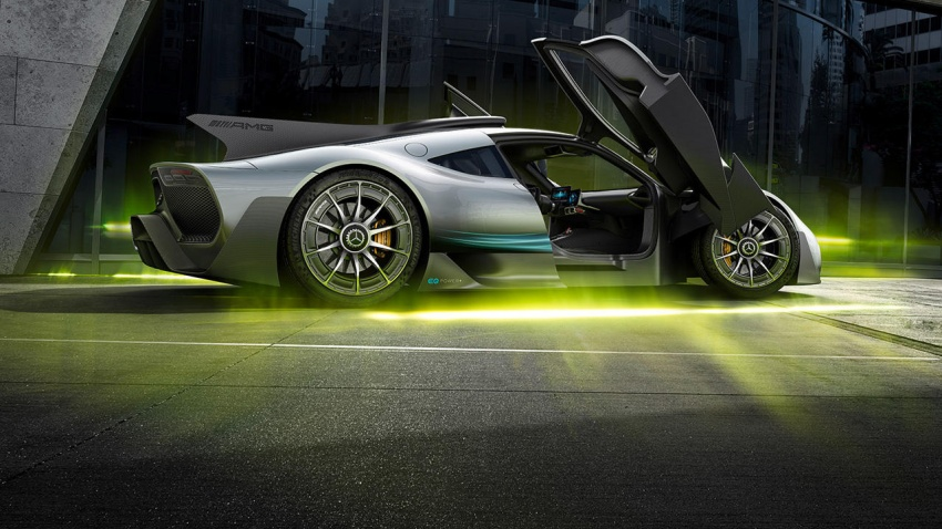 Mercedes-AMG Project One hypercar finally unveiled – sub-6 seconds 0-200 km/h, top speed over 350 km/h Image #711376