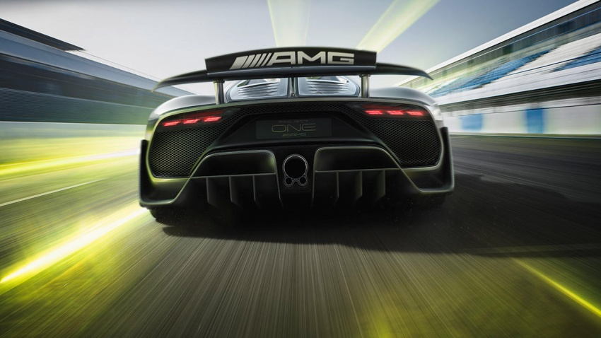 Mercedes-AMG Project One hypercar finally unveiled – sub-6 seconds 0-200 km/h, top speed over 350 km/h Image #711380