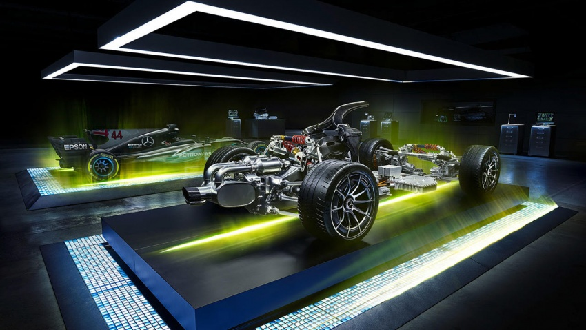Mercedes-AMG Project One hypercar finally unveiled – sub-6 seconds 0-200 km/h, top speed over 350 km/h Image #711368