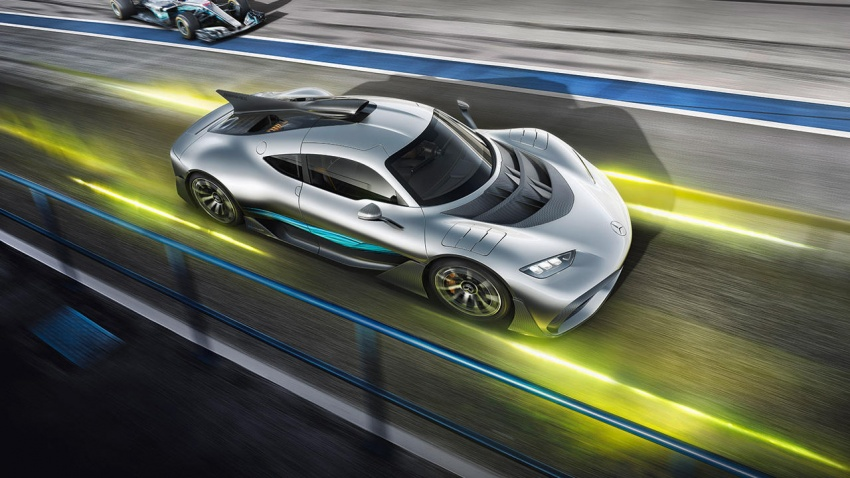 Mercedes-AMG Project One hypercar finally unveiled – sub-6 seconds 0-200 km/h, top speed over 350 km/h Image #711369