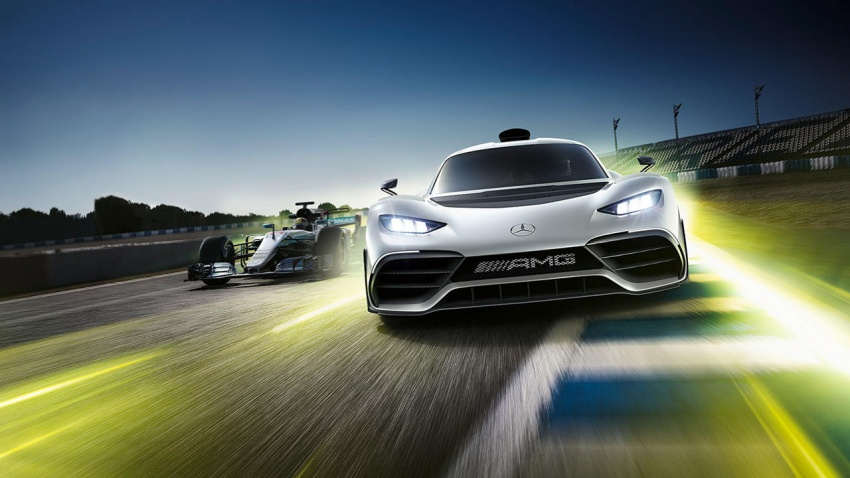 Mercedes-AMG Project One hypercar finally unveiled – sub-6 seconds 0-200 km/h, top speed over 350 km/h Image #711370