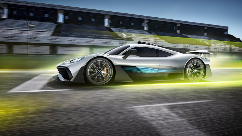 Mercedes-AMG Project One hypercar finally unveiled – sub-6 seconds 0-200 km/h, top speed over 350 km/h Image #711372