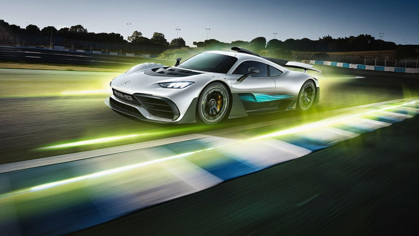 Mercedes-AMG Project One hypercar finally unveiled – sub-6 seconds 0-200 km/h, top speed over 350 km/h Image #711373