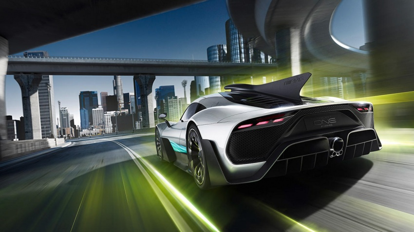 Mercedes-AMG Project One hypercar finally unveiled – sub-6 seconds 0-200 km/h, top speed over 350 km/h Image #711375