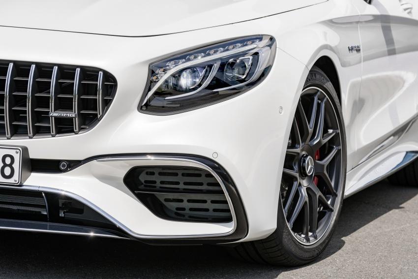 Mercedes-Benz S-Class Coupe C217 dan S-Class Cabriolet A217 facelift didedah, termasuk versi AMG Image #705655