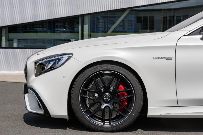 Mercedes-Benz S-Class Coupe C217 dan S-Class Cabriolet A217 facelift didedah, termasuk versi AMG Image #705656