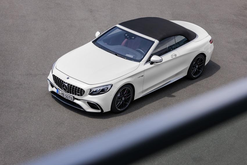 Mercedes-Benz S-Class Coupe C217 dan S-Class Cabriolet A217 facelift didedah, termasuk versi AMG Image #705658