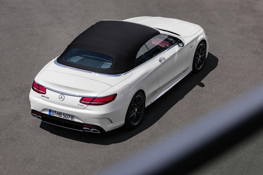 Mercedes-Benz S-Class Coupe C217 dan S-Class Cabriolet A217 facelift didedah, termasuk versi AMG Image #705660