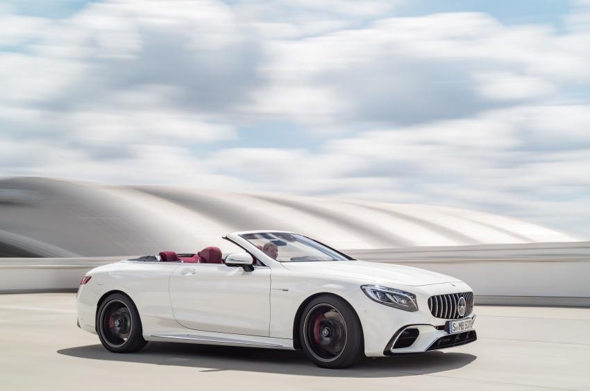 Mercedes-Benz S-Class Coupe C217 dan S-Class Cabriolet A217 facelift didedah, termasuk versi AMG Image #705663