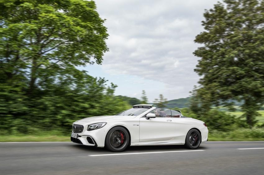 Mercedes-Benz S-Class Coupe C217 dan S-Class Cabriolet A217 facelift didedah, termasuk versi AMG Image #705664