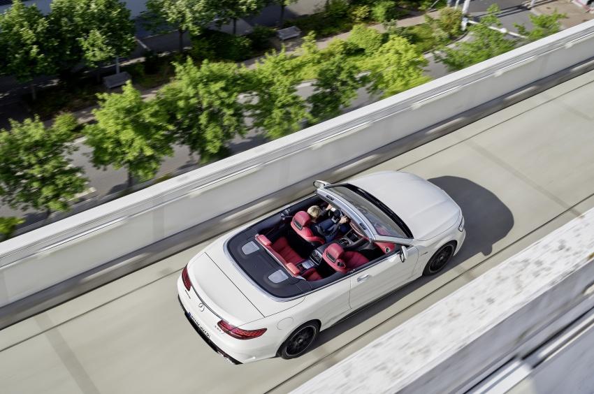 Mercedes-Benz S-Class Coupe C217 dan S-Class Cabriolet A217 facelift didedah, termasuk versi AMG Image #705673