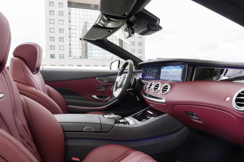 Mercedes-Benz S-Class Coupe C217 dan S-Class Cabriolet A217 facelift didedah, termasuk versi AMG Image #705674