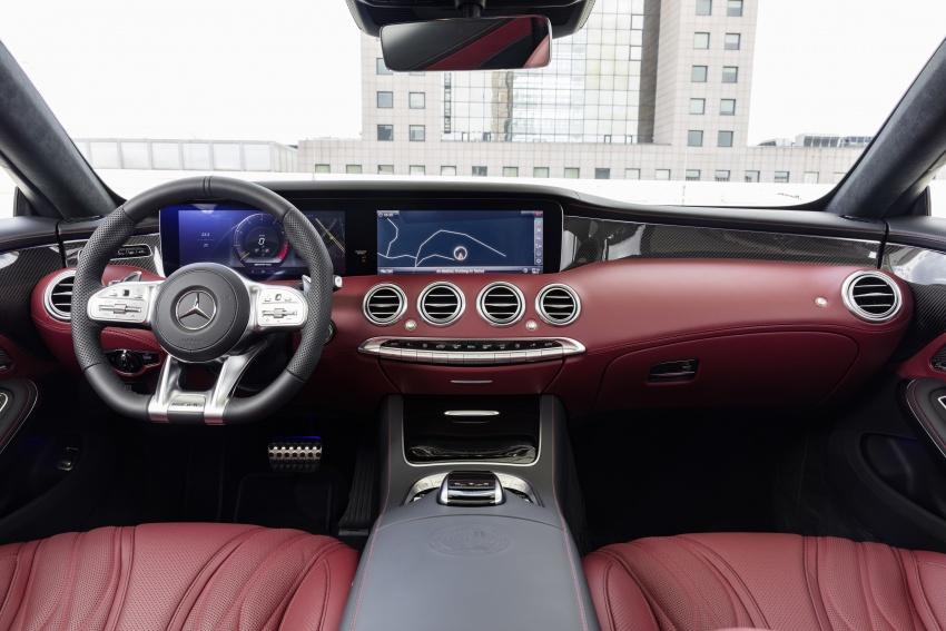 Mercedes-Benz S-Class Coupe C217 dan S-Class Cabriolet A217 facelift didedah, termasuk versi AMG Image #705675