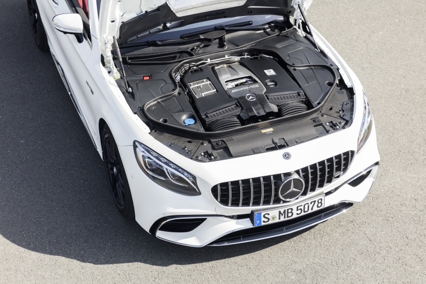 Mercedes-Benz S-Class Coupe C217 dan S-Class Cabriolet A217 facelift didedah, termasuk versi AMG Image #705646