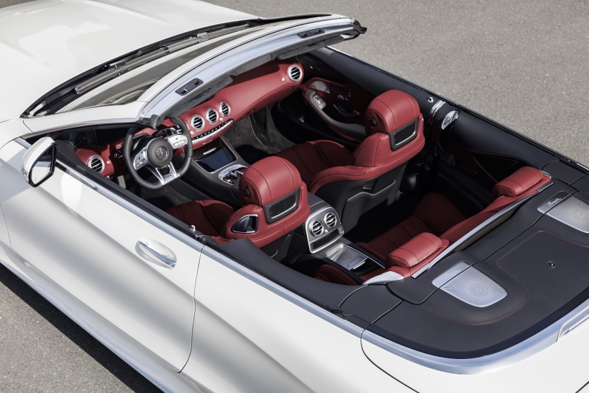 Mercedes-Benz S-Class Coupe C217 dan S-Class Cabriolet A217 facelift didedah, termasuk versi AMG Image #705647
