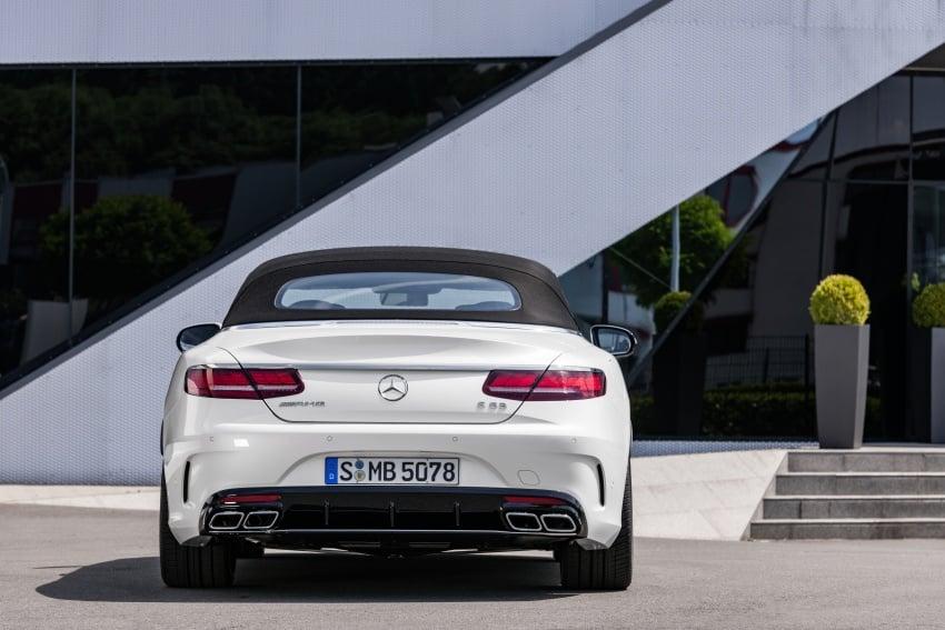 Mercedes-Benz S-Class Coupe C217 dan S-Class Cabriolet A217 facelift didedah, termasuk versi AMG Image #705650