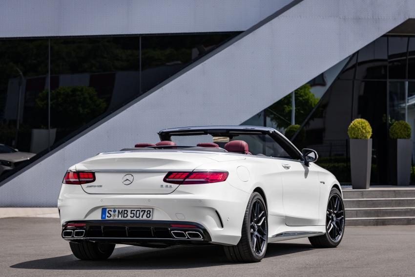 Mercedes-Benz S-Class Coupe C217 dan S-Class Cabriolet A217 facelift didedah, termasuk versi AMG Image #705652
