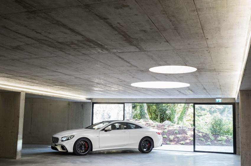 Mercedes-Benz S-Class Coupe C217 dan S-Class Cabriolet A217 facelift didedah, termasuk versi AMG Image #705624