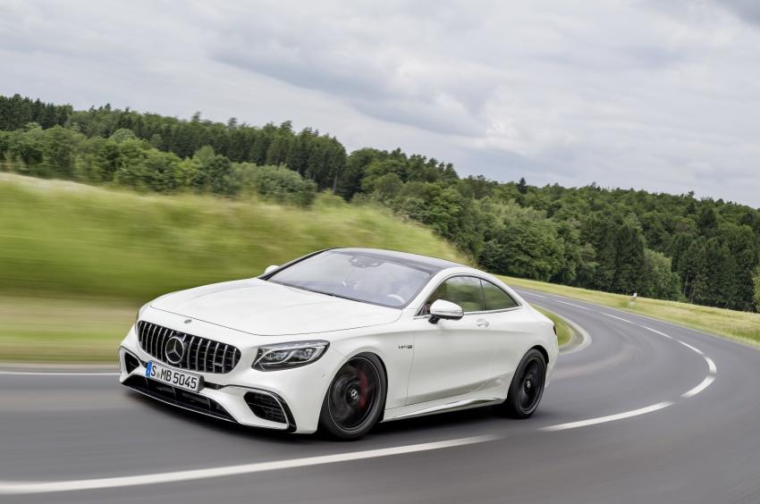 Mercedes-Benz S-Class Coupe C217 dan S-Class Cabriolet A217 facelift didedah, termasuk versi AMG Image #705635