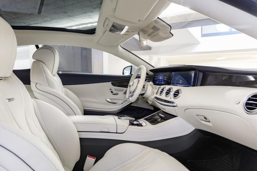 Mercedes-Benz S-Class Coupe C217 dan S-Class Cabriolet A217 facelift didedah, termasuk versi AMG Image #705639