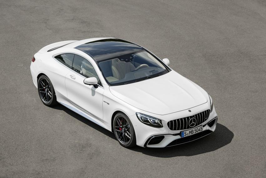 Mercedes-Benz S-Class Coupe C217 dan S-Class Cabriolet A217 facelift didedah, termasuk versi AMG Image #705614