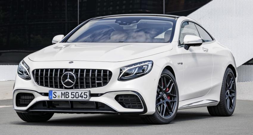 Mercedes-Benz S-Class Coupe C217 dan S-Class Cabriolet A217 facelift didedah, termasuk versi AMG Image #705616