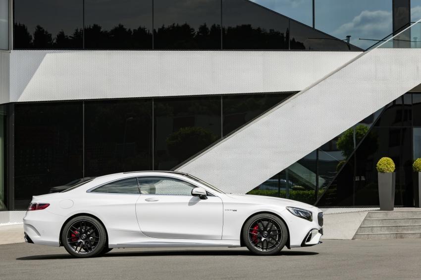 Mercedes-Benz S-Class Coupe C217 dan S-Class Cabriolet A217 facelift didedah, termasuk versi AMG Image #705617