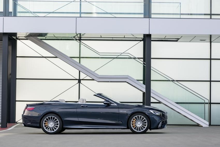 Mercedes-Benz S-Class Coupe C217 dan S-Class Cabriolet A217 facelift didedah, termasuk versi AMG Image #705695