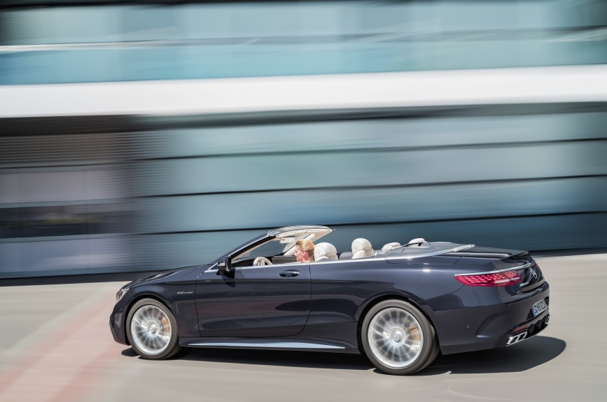 Mercedes-Benz S-Class Coupe C217 dan S-Class Cabriolet A217 facelift didedah, termasuk versi AMG Image #705705