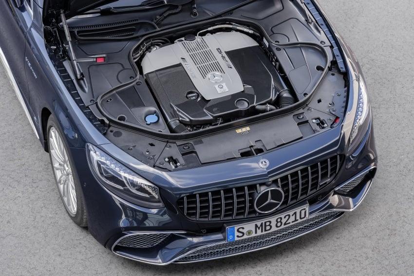 Mercedes-Benz S-Class Coupe C217 dan S-Class Cabriolet A217 facelift didedah, termasuk versi AMG Image #705707