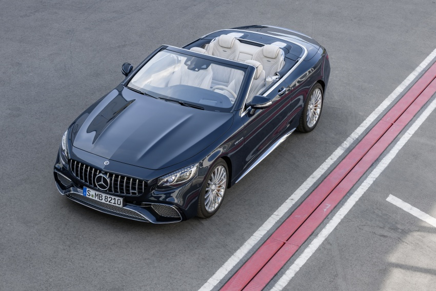 Mercedes-Benz S-Class Coupe C217 dan S-Class Cabriolet A217 facelift didedah, termasuk versi AMG Image #705709