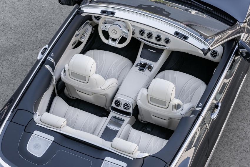 Mercedes-Benz S-Class Coupe C217 dan S-Class Cabriolet A217 facelift didedah, termasuk versi AMG Image #705711