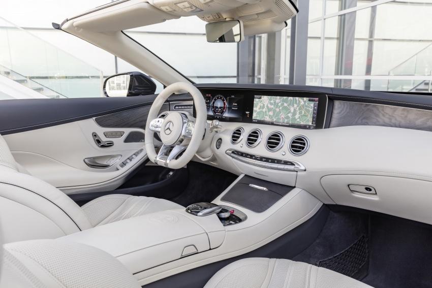 Mercedes-Benz S-Class Coupe C217 dan S-Class Cabriolet A217 facelift didedah, termasuk versi AMG Image #705712