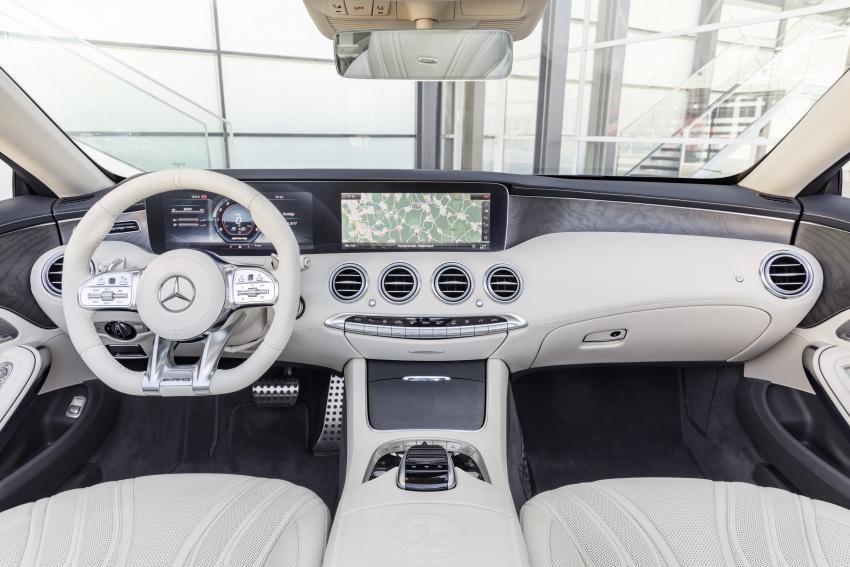 Mercedes-Benz S-Class Coupe C217 dan S-Class Cabriolet A217 facelift didedah, termasuk versi AMG Image #705713